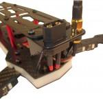 XT60 und Antennenhalterung