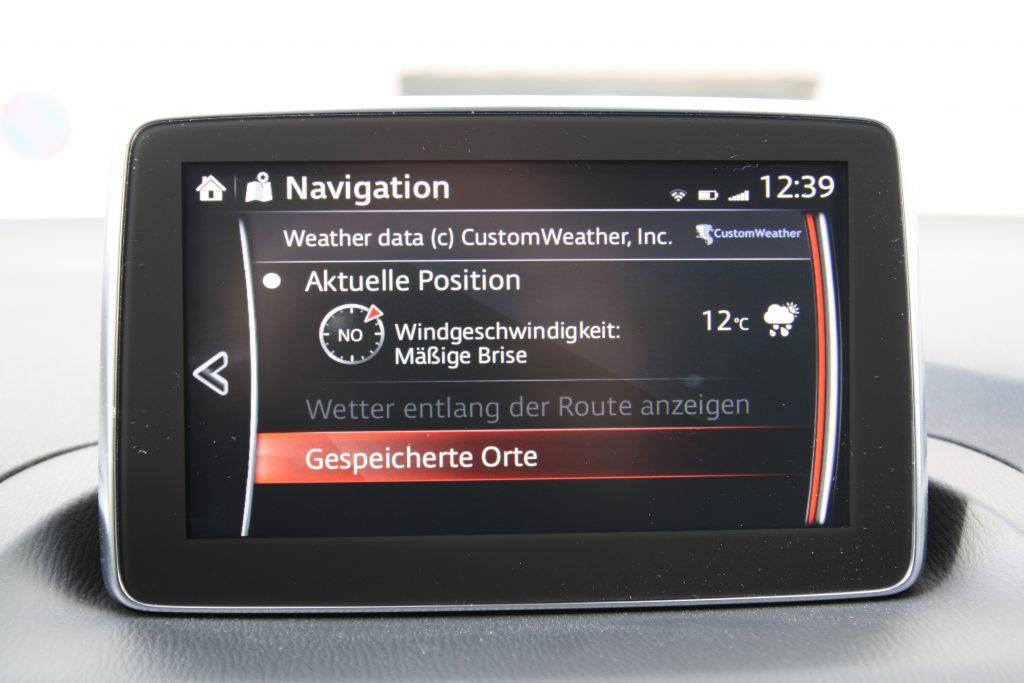 Mazda MZD Online Dienste
