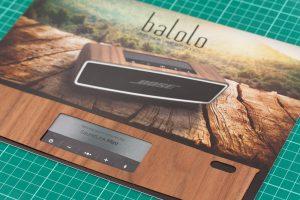 balolo Walnuss Echtholzcover