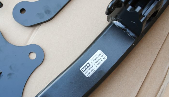 MVG Anhängerkupplung Mazda 3