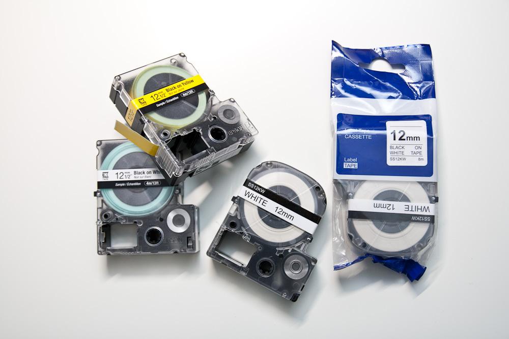 Epson Label Works LW400 Schriftbänder