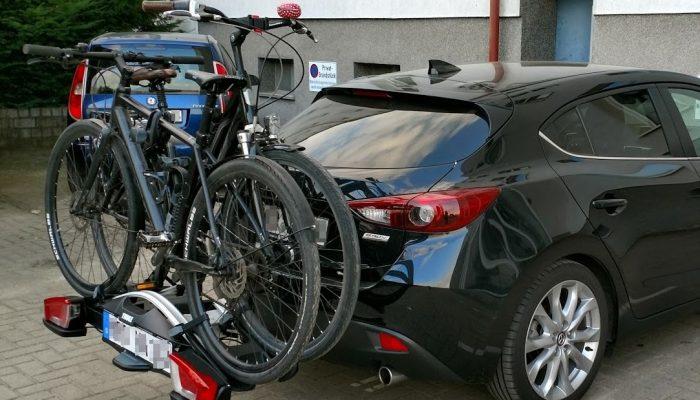 Mazda 3 mit Thule VeloCompact